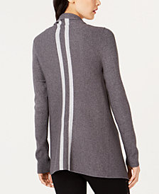 I.N.C. Handkerchief-Hem Open-Front Cardigan, Created for Macy's