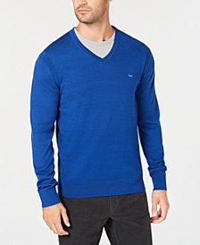 Michael Kors Men's Classic V-Neck Sweater
