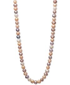 "Belle de Mer Pearl Necklace, 36"" Cultured Freshwater Pearl Endless Strand (8-1/2mm)"