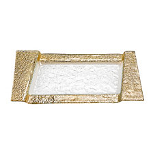 Rimini Gold Serving Tray