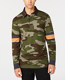 American Rag Men's Camo Rugby Shirt, Created for Macy's