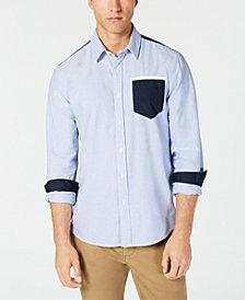 American Rag Men's Philbin Colorblocked Shirt, Created for Macy's