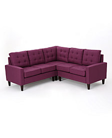Mitchell 3-Pc. Sectional Sofa Set, Quick Ship