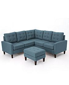 Mitchell 4-Pc. Sectional Sofa Set, Quick Ship