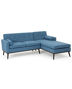 Blue Sectional Sofas Couches Macy S