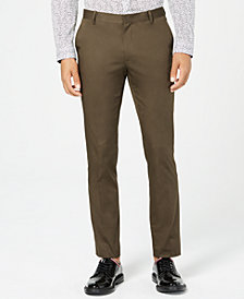 I.N.C. Men's Extra Slim Stretch Pants, Created for Macy's