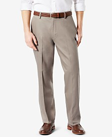 Dockers Men's Signature Lux Cotton Relaxed Fit Stretch Khaki Pants