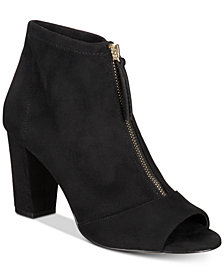 I.N.C. Kirsi Zipper Booties, Created for Macy's