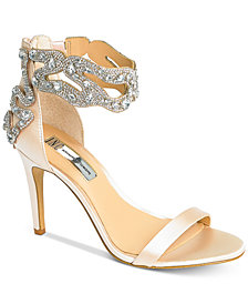 I.N.C. Raizel Ankle Strap Sandals, Created For Macy's