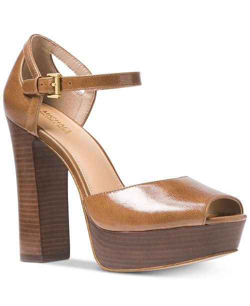 a8d2e6318f76 Michael Kors Blake Platform Sandals   Reviews - Sandals   Flip Flops ...