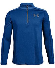 Under Armour Big Boys UA Tech™ Half-Zip Shirt