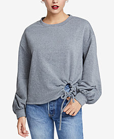 RACHEL Rachel Roy Hannah Drawstring Bishop-Sleeve Sweatshirt, Created for Macy's