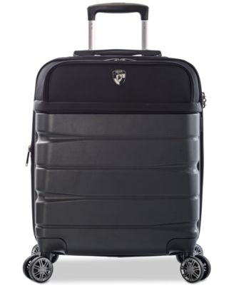 "Charge-A-Weigh 21"" Hybrid Carry-On Spinner Suitcase"