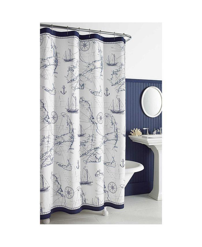 City Scene - Cape Island Shower Curtain Collection