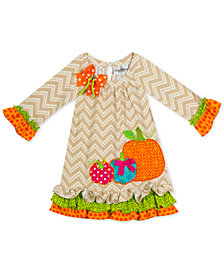 Rare Editions Toddler Girls Pumpkin Dress