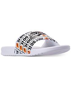 watch 27b67 a8ce1 Nike Slides: Shop Nike Slides - Macy's
