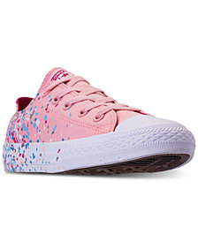 Converse Girls' Chuck Taylor All Star Ox Confetti Casual Sneakers from Finish Line