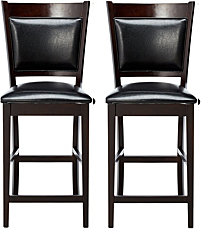 Bellerose Contemporary Counter-Height Chair, Set of 2