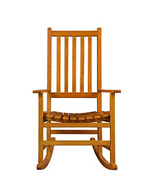 Longwood Casual Wood Rocking Chair