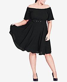 City Chic Trendy Plus Size A-Line Dress