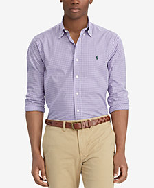 Polo Ralph Lauren Men's Gingham Classic Fit Shirt