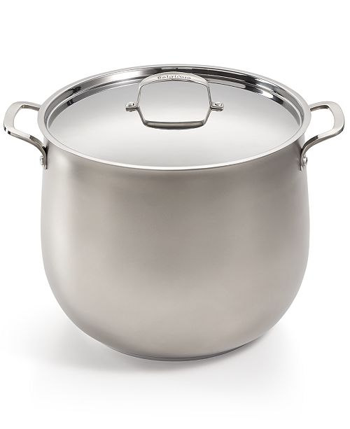 Belgique 20 Qt Sand Blasted Stainless Steel Stockpot Created For