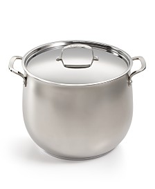 Belgique 16-Qt. Sand Blasted Stockpot, Created for Macy's
