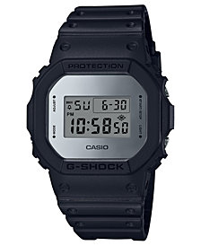 G-Shock Men's Digital Black Resin Strap Watch 42.6mm