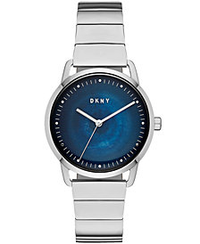 DKNY Women's Greenpoint Stainless Steel Bracelet Watch 36mm, Created for Macy's
