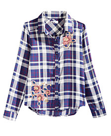 Epic Threads Big Girls Sequin Shirt, Created for Macy's