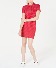 Lacoste Polo T-Shirt Dress