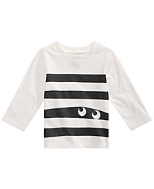 First Impressions Baby Boys Cotton Monster Stripe T-Shirt, Created for Macy's