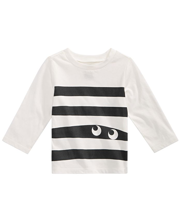 First Impressions - Toddler Boys Cotton Monster Stripe T-Shirt