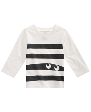 First Impressions Baby Boys Cotton Monster Stripe TShirt Created for Macys
