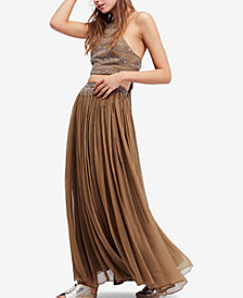 Free People Dew Drop 2-Pc. Embellished A-Line Dress