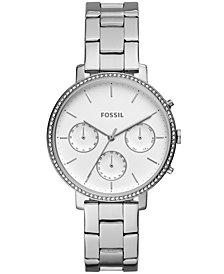 Fossil Women's Sylvia Stainless Steel Bracelet Watch 38mm