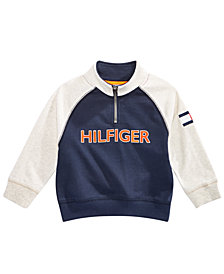 Tommy Hilfiger Baby Boys Half-Zip Sweatshirt