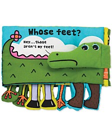 Melissa & Doug Whose Feet? Cloth Book
