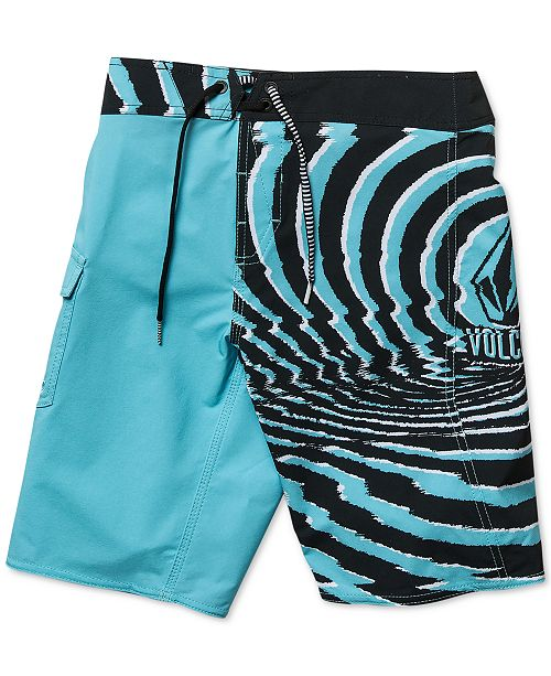 477073a851f31 Volcom Toddler Boys Lido Printed Swim Trunks - Swimwear - Kids - Macy's