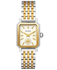 Women's Robinson Two-Tone Stainless Steel Bracelet Watch 27x29mm