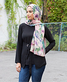 Verona Collection Printed Head Scarf
