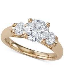 Diamond Three-Stone Ring (2-1/10 ct. t.w.)