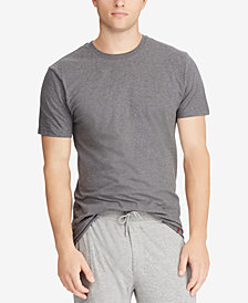 Polo Ralph Lauren Men's Classic-Fit Crew-Neck Cotton T-Shirt, 4-Pk.
