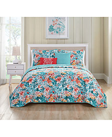 VCNY Home Kayla Reversible 4-Pc. Twin Quilt Set