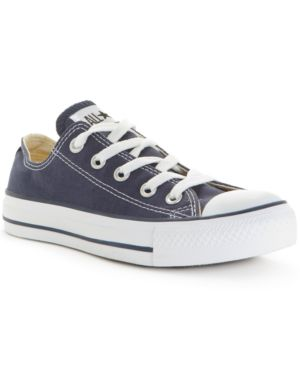 Women'S Chuck Taylor Shoreline Ox Casual Sneakers From Finish Line, Navy