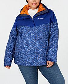 Columbia Plus Size Loon Ledge™ Waterproof Interchange Jacket