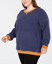 Columbia Plus Size Feeling Frosty™ Fleece Top