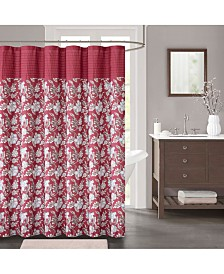 "CLOSEOUT! Décor Studio Isabella 72"" x 72"" Shower Curtain"