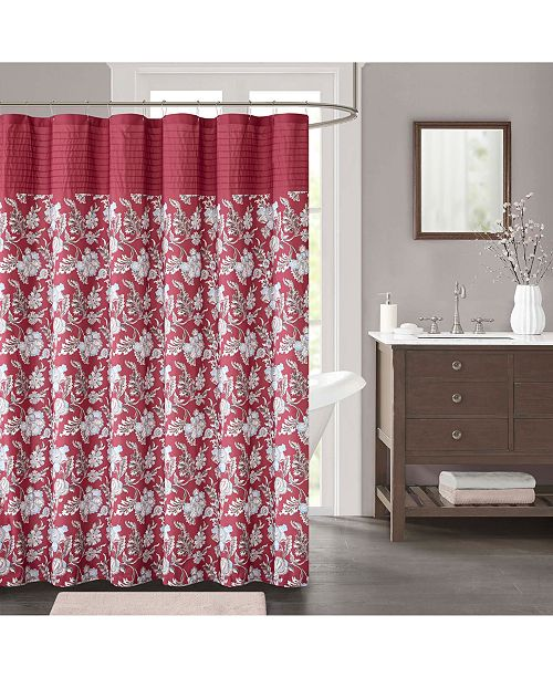 """JLA Home CLOSEOUT! Isabella 72"""" x 72"""" Shower Curtain"""