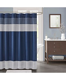 "Décor Studio Sorrel 72"" x 72"" Faux-Silk Shower Curtain"